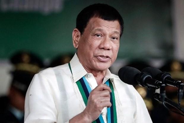 菲律宾总统对日本进行访问 hinh anh 1