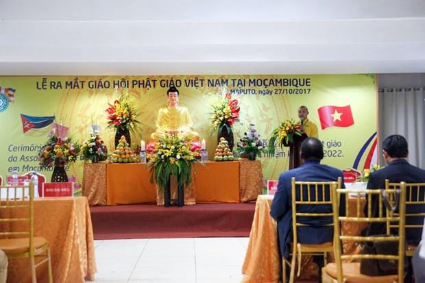 在莫越南佛教协会正式亮相 hinh anh 1