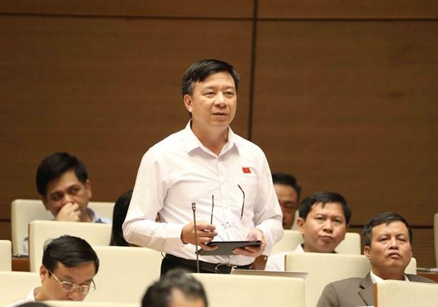 越南第十四届国会第四次会议:增强领导人对在编人员精简工作的责任感 hinh anh 1