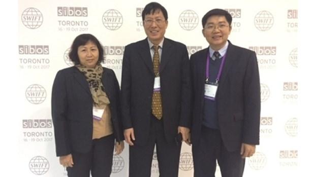 越南证券托管中心干部代表团参加2017年国际银行家营运研讨会 hinh anh 1