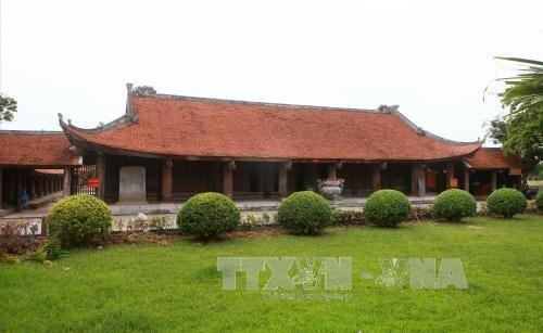 越南太平省神光寺庙会被公认为国家级非物质文化遗产 hinh anh 2