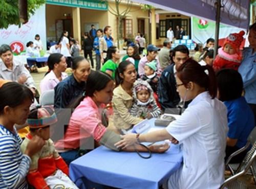 越共第十二届六中全会关于保护和提升民众健康水平的决议 hinh anh 1