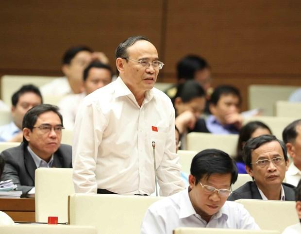越南第十四届国会第四次会议:增强领导人对在编人员精简工作的责任感 hinh anh 2
