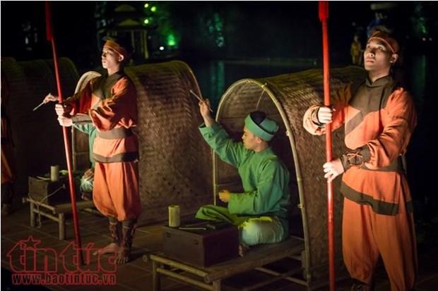 越南首个实景演出舞台亮相 hinh anh 1
