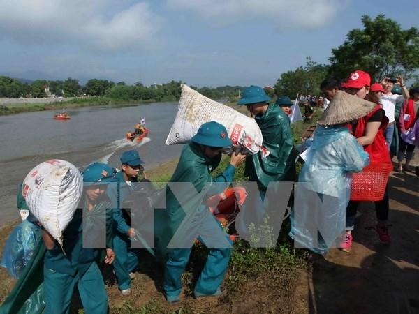 政府总理阮春福呼吁全国同胞和自然灾害防御力量主动应对自然灾害 hinh anh 2