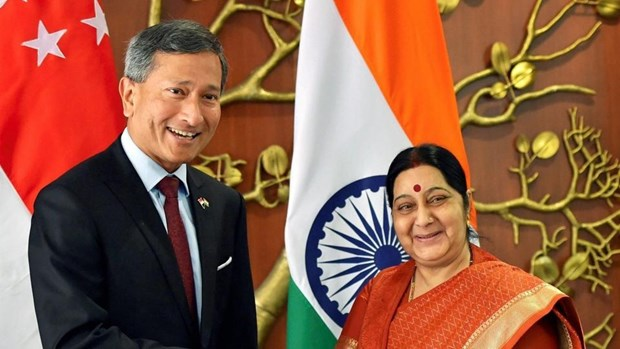 新加坡与印度加强关系 hinh anh 1