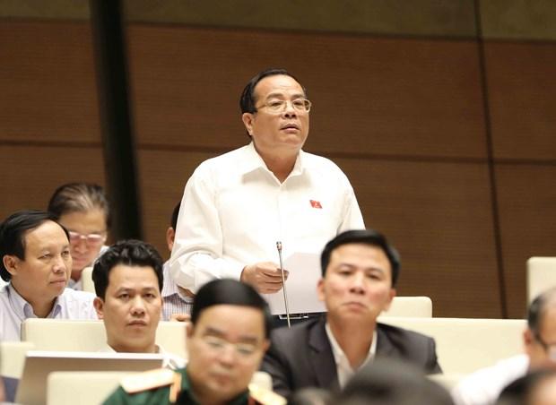 越南第十四届国会第四次会议:培养民营经济强壮发展使其成为国家的主要引擎 hinh anh 1