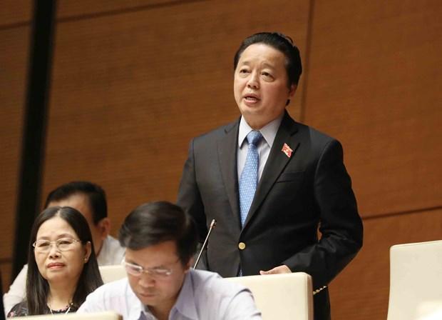 越南第十四届国会第四次会议:培养民营经济强壮发展使其成为国家的主要引擎 hinh anh 2