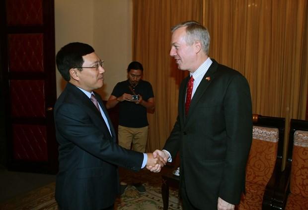 美国总统特朗普访问越南将有助于深化两国全面伙伴关系 hinh anh 1