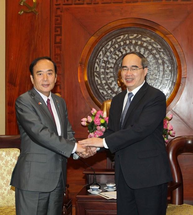 越南胡志明市与日本崎玉县加强人力资源培训合作 hinh anh 1