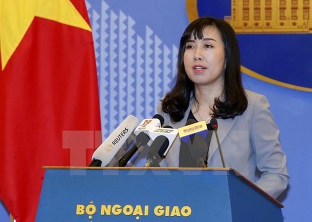 越南外交部发言人:应在尊重宪法和法律基础上维护西班牙统一和稳定 hinh anh 1