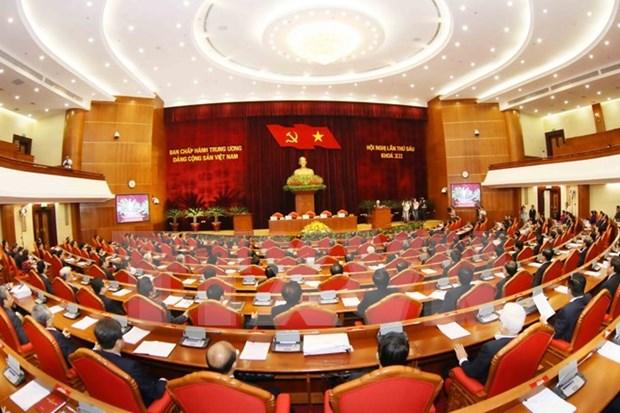 越共第十二届六中全会关于继续推进政治体制革新的决议 hinh anh 1
