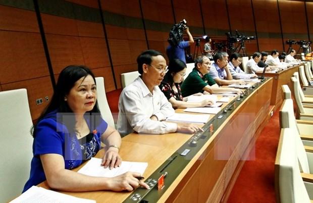 第十四届国会第四次会议:经济发展需与社会保障并行 hinh anh 2