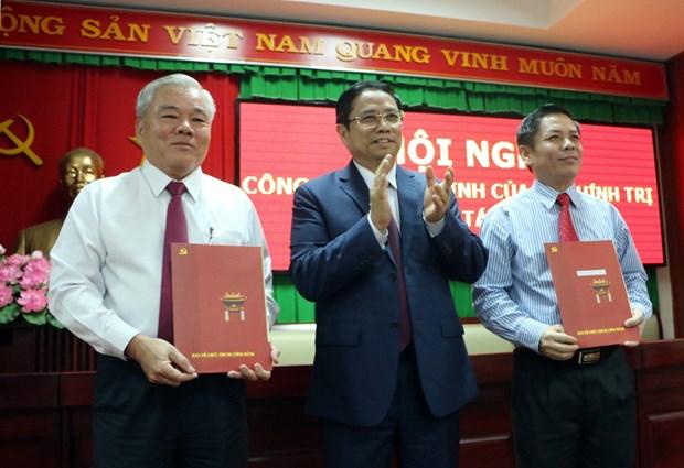 越共中央政治局关于朔庄省干部工作的决定正式公布 hinh anh 2