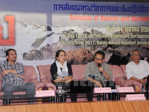 """题为""""促进可持续开发湄公河水源的合作""""国际研讨会在泰国举行 hinh anh 1"""