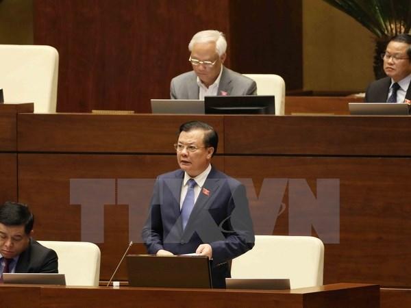 越南财政部长丁进勇:确保财政赤字控制在国会允许范围内 hinh anh 1