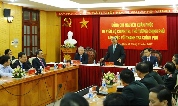 阮春副总理:政府监察总署须确保群众诉求得到合理合法的解决 hinh anh 1