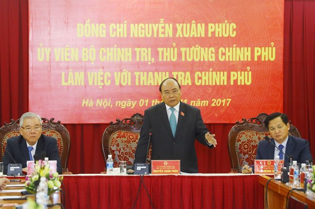 阮春副总理:政府监察总署须确保群众诉求得到合理合法的解决 hinh anh 2