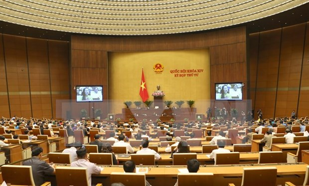 越南第十四届国会第四次会议:将物流服务发展成为拳头产业 hinh anh 1