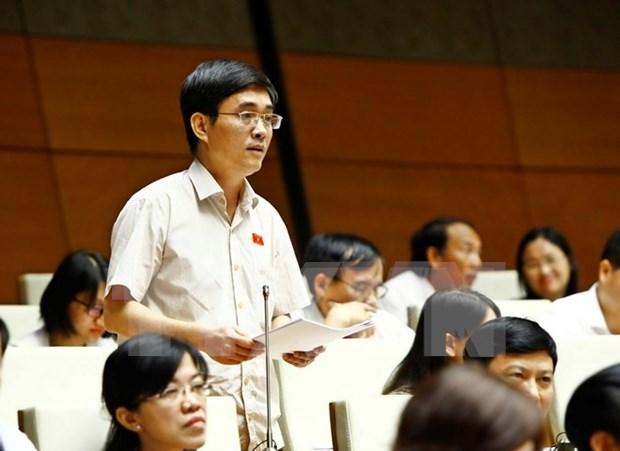 越共第十二届六中全会关于提高国有事业单位运作质量和效益的决议 hinh anh 1