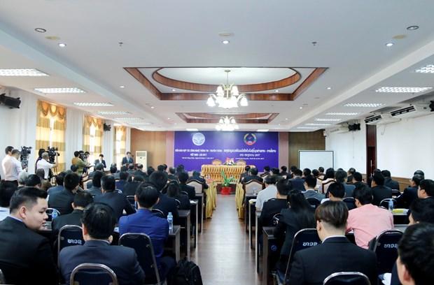 越老建交55周年:越南与老挝加强信息技术与传媒领域合作 hinh anh 1