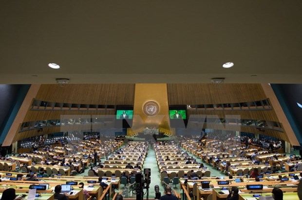 越南建议联合国为难民问题找到长期性解决方案 hinh anh 1