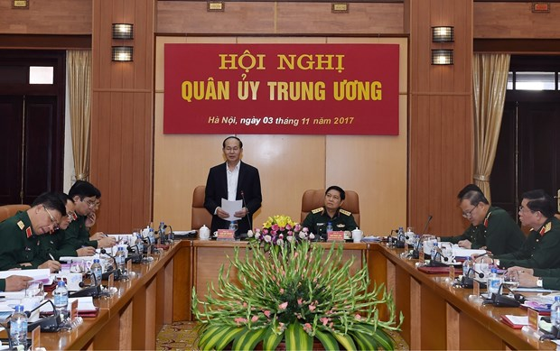 越共中央军委对国防与军事工作进行评价 hinh anh 1
