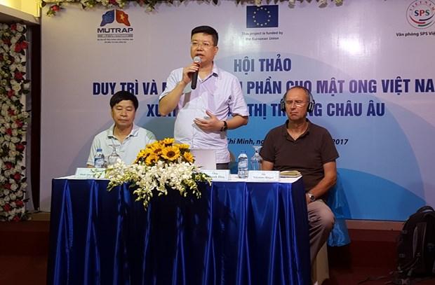 越南努力促进蜂蜜对欧盟出口 hinh anh 1