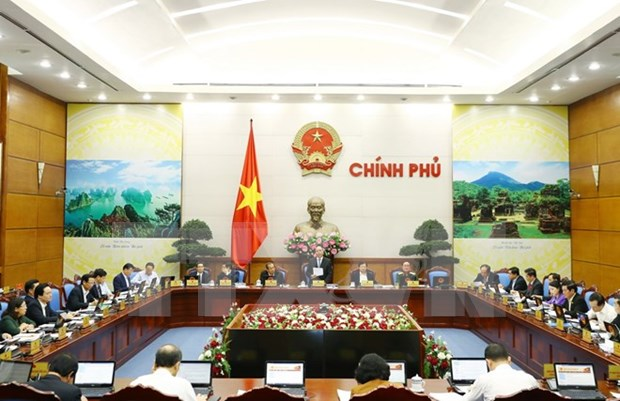 阮春福总理:10月份全国经济社会发展释放出积极信号 hinh anh 1