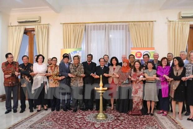 东盟与印度建交25周年纪念活动在印度尼西亚举行 hinh anh 2