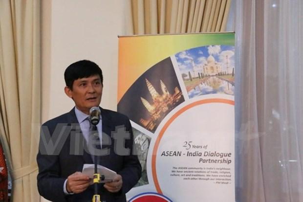 东盟与印度建交25周年纪念活动在印度尼西亚举行 hinh anh 1
