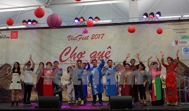 2017年越南文化节在澳大利亚举行 hinh anh 1