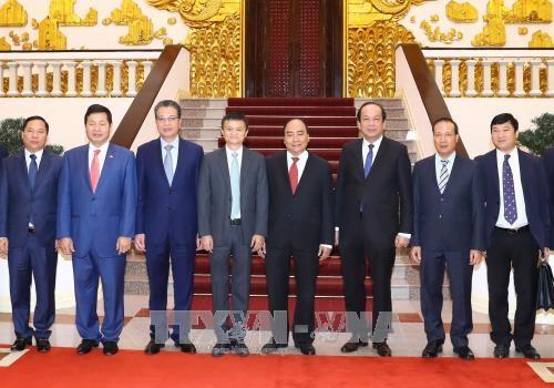 政府总理阮春福会见阿里巴巴总裁马云 hinh anh 2