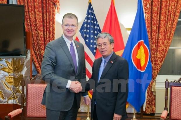 美国新任驻越大使承诺继续为培育越美关系贡献力量 hinh anh 1