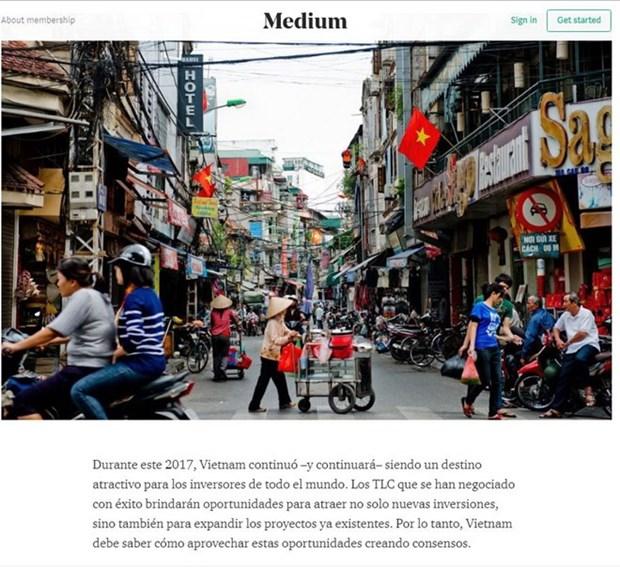 APEC 2017: 阿根廷媒体高度评价越南经济社会发展成就 hinh anh 2