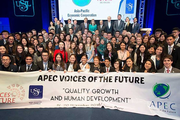 APEC未来之声论坛:青年之声是未来之声 hinh anh 1