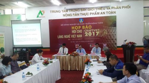 2017年越南手工艺村展览会即将在河内举行 hinh anh 1