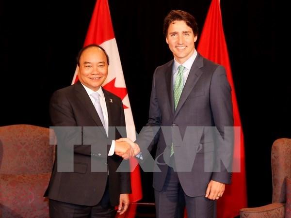 加拿大总理即将访越:推动越加关系走向深入 hinh anh 1