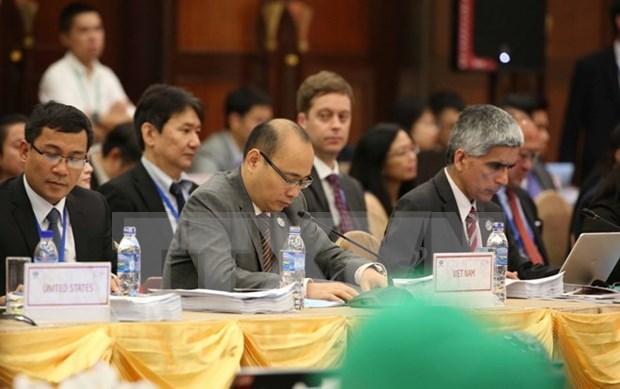 2017年APEC高官总结会议在岘港市开幕 hinh anh 1