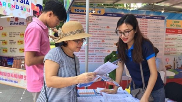 河内旅游酬宾日吸引游客量达3.6万人次 hinh anh 1