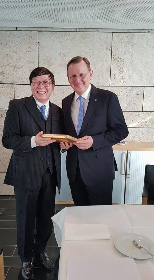 德国图林根州推动与越南的合作关系 hinh anh 1