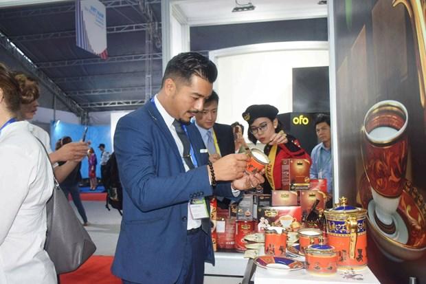 2017年APEC会议:越南经贸展览会在岘港市举行 hinh anh 2