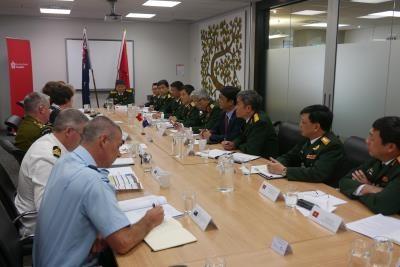 越南与新西兰加强防务合作 hinh anh 1