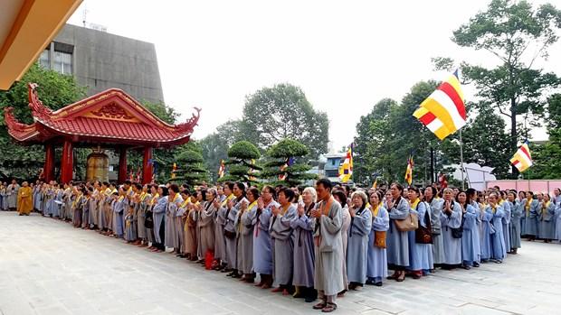 胡志明市佛教信徒积极参与城市建设 hinh anh 3