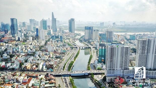大量外国直接投资资金流入胡志明市房地产市场 hinh anh 1