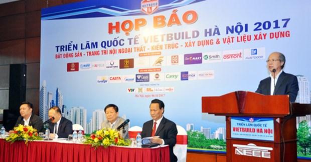 2017年第3届越南(河内)国际建筑建材及装饰材料博览会即将举行 hinh anh 1