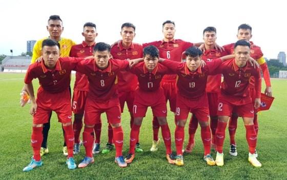 2018年亚洲足联U19青年锦标赛预选赛:越南U19队取得二连胜 hinh anh 1