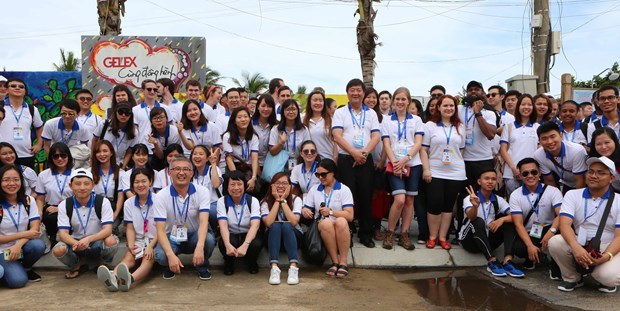 APEC 青年代表团走访广南省体验当地居民生活 了解地方特色 hinh anh 1