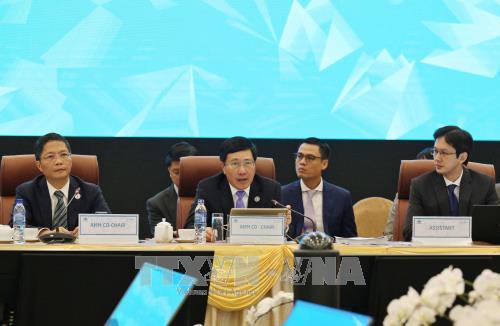 外交与经贸部长会议为APEC领导人会议做好筹备工作 hinh anh 2