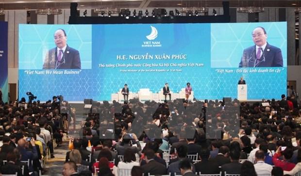 2017年APEC会议:越南改善营商环境 提高竞争力 hinh anh 1